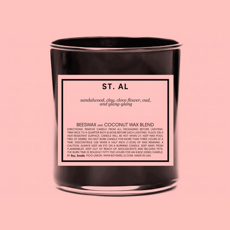 Boy Smells: St. Al Candle
