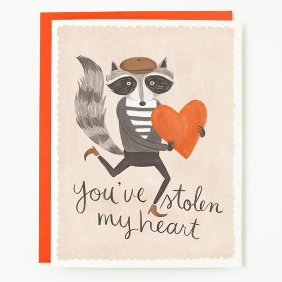Quill & Fox: You've Stolen My Heart Card