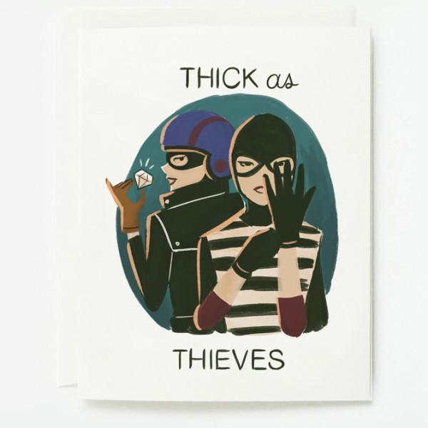 Quill & Fox: Thick as Thieves Card