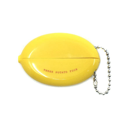 Three Potato Four: Coin Pouch - Taco Money - Yellow