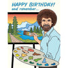 The Found: Bob Ross Birthday Card
