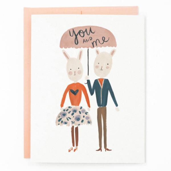 Quill & Fox: You and Me Card