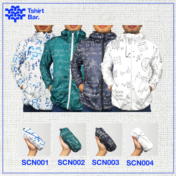 Jaket Lipat Full Print (Science Series)