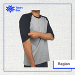 Kaos Raglan Soft Cotton (30s)
