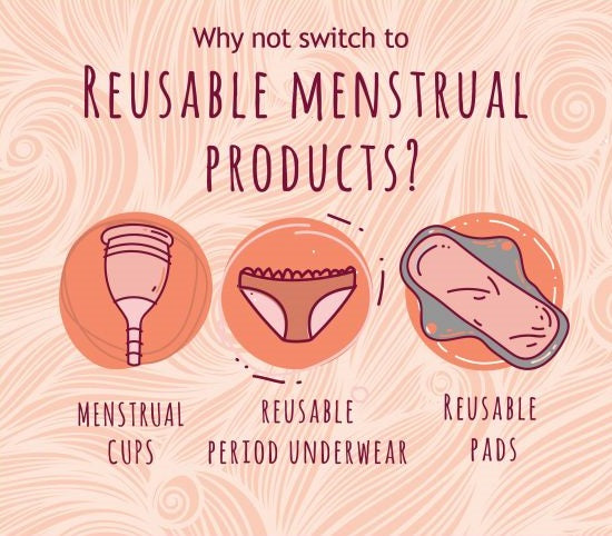 biodegradable menstrual products
