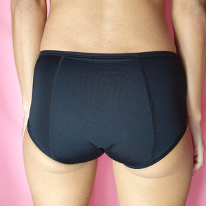 High waist period proof booty brief