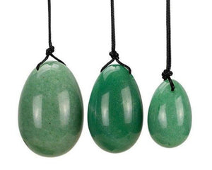 Jade Stone Vaginal Yoni Egg with String