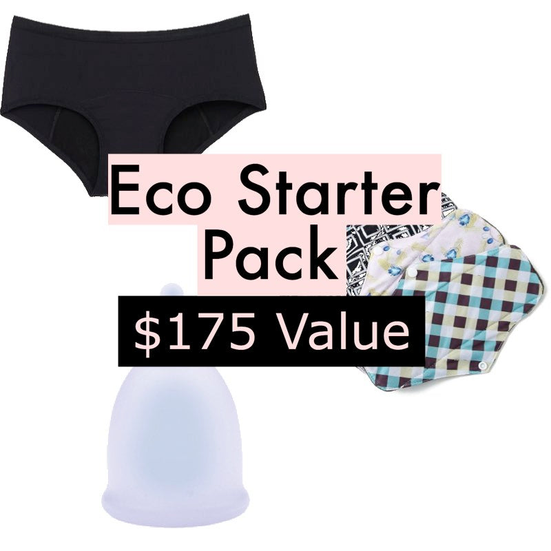Eco Friendly Period Starter Pack