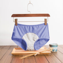 Load image into Gallery viewer, leak free period proof underwear blue