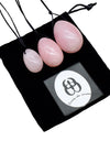 Rose Quartz Vaginal Yoni Egg Pack