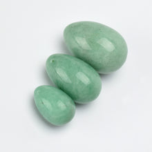 Load image into Gallery viewer, Jade Stone Vaginal Yoni Egg Pack