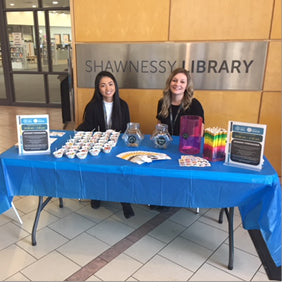 Students Supporting the Library