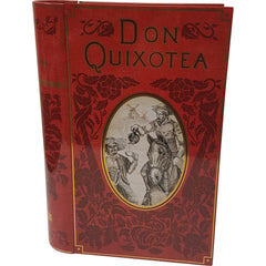 Don Quixotea Tea Tin - Calgary Public Library Store