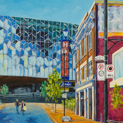 Downtown Street Scenes - Ashley Oshiro Prints - Calgary Public Library Store