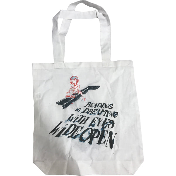 Reading Is Dreaming Tote Bag