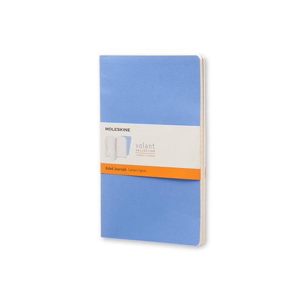 Moleskine Volant Notebooks, Ruled, Large