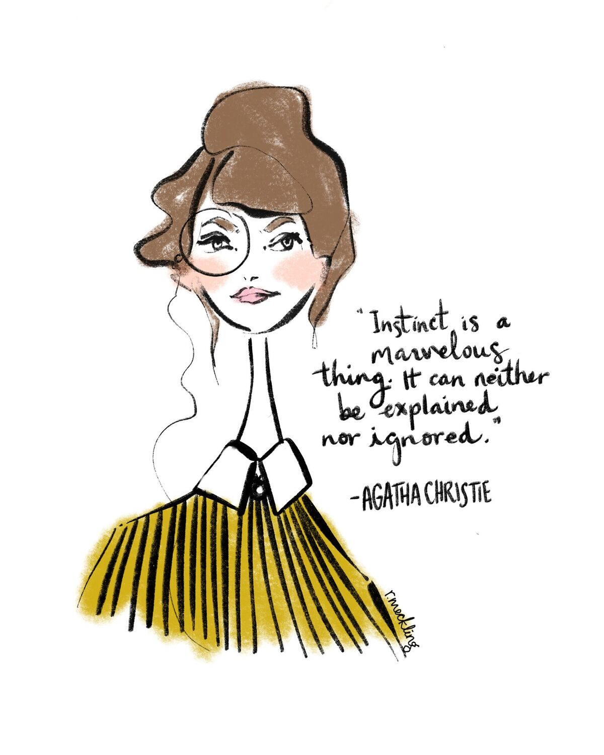 Women Of Literature Rachael Meckling Greeting Cards