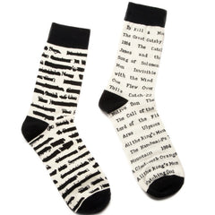 Banned Books Socks - Calgary Public Library Store