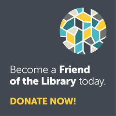Become a Friend of the Library!  Choose your donation amount by clicking on one of the options. - Calgary Public Library Store