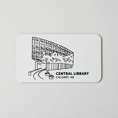 Central Library Magnet - Calgary Public Library Store