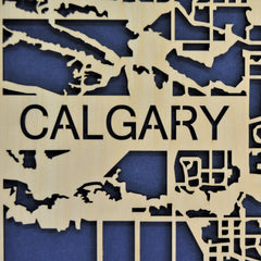 Printable Minds: Calgary Thru-cut Map - Calgary Public Library Store