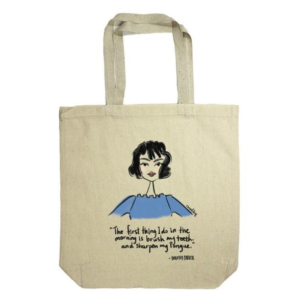 Dorothy Parker: Rachael Meckling Tote Bag