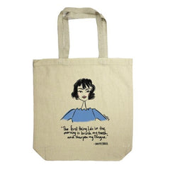 Dorothy Parker: Rachael Meckling Tote Bag - Calgary Public Library Store