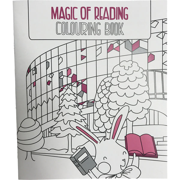 Magic of Reading Colouring Book