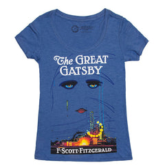 The Great Gatsby Women's T-shirt - Calgary Public Library Store