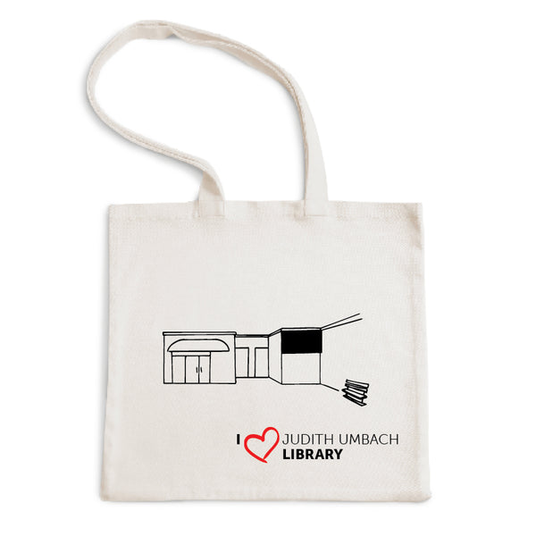 I Love Judith Umbach Library Tote Bag