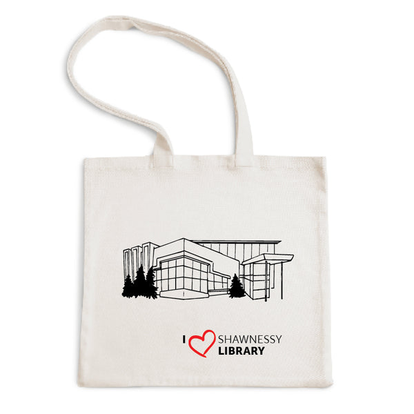 I Love Shawnessy Library Tote Bag