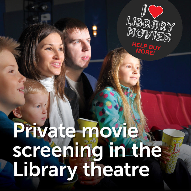 Private Movie Screening at the Library Theatre
