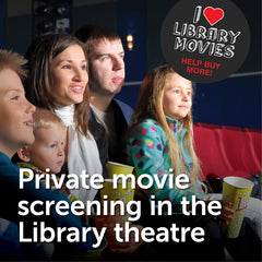 Private Movie Screening at the Library Theatre - Calgary Public Library Store