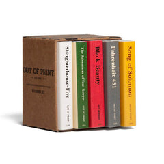 Banned Books Matchbox Set - Calgary Public Library Store
