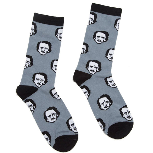 Edgar Allan Poe-ka Dot Socks