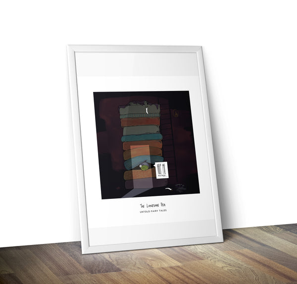 The Princess & The Pea Print