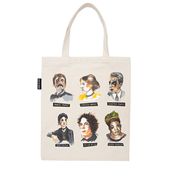Punk Rock Authors - Tote Bag - Calgary Public Library Store
