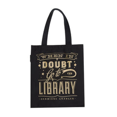 When in Doubt Go to the Library Tote Bag - Calgary Public Library Store