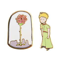 The Little Prince Enamel Pin Set - Calgary Public Library Store