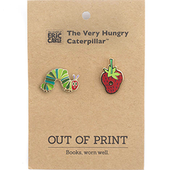 The Very Hungry Caterpillar Enamel Pin Set - Calgary Public Library Store