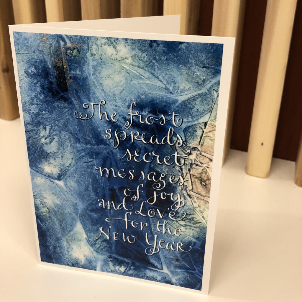 Greeting Card Frost