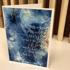 Greeting Card: Frost - Calgary Public Library Store