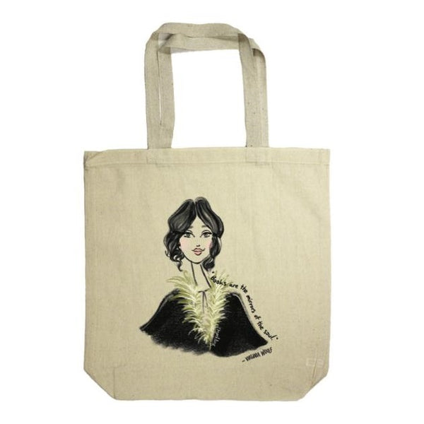 Virginia Woolf: Rachael Meckling Tote Bag