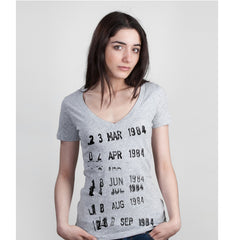 Library Card Stamp Women's T-shirt - Calgary Public Library Store