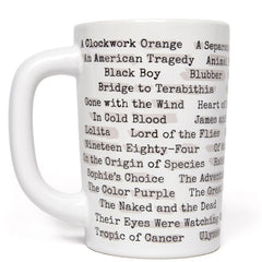 Banned Books Mug (Heat Reactive) - Calgary Public Library Store