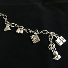 Library Charm Bracelet - Calgary Public Library Store
