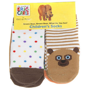 Brown Bear, Brown Bear, What Do You See? Kid's Socks
