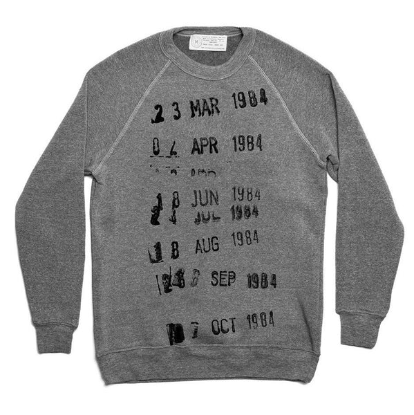 Library Card Stamp Sweater