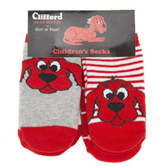 Clifford the Big Red Dog Kid's Socks - Calgary Public Library Store