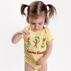 Curious George Onesie - Calgary Public Library Store